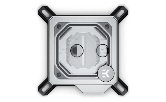 EKWB Velocity D-RGB Intel Nickel/Plexi Waterblock