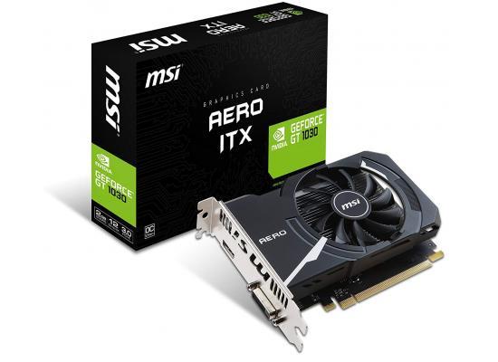 MSI NVIDIA GeForce GT 1030 AERO ITX 2G OC GDDR5