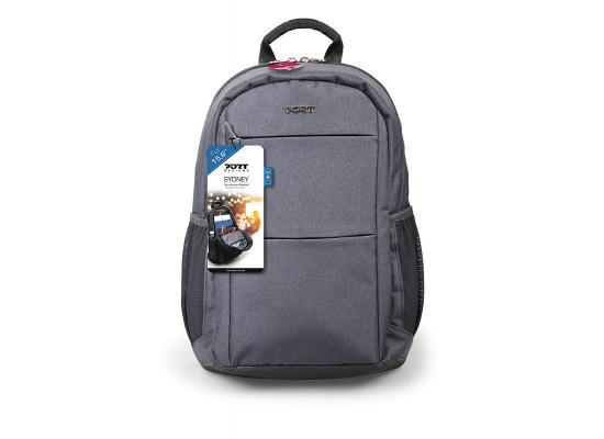 "Port Designs Sydney 135075 Case Backpack for 15.6"" - Grey"