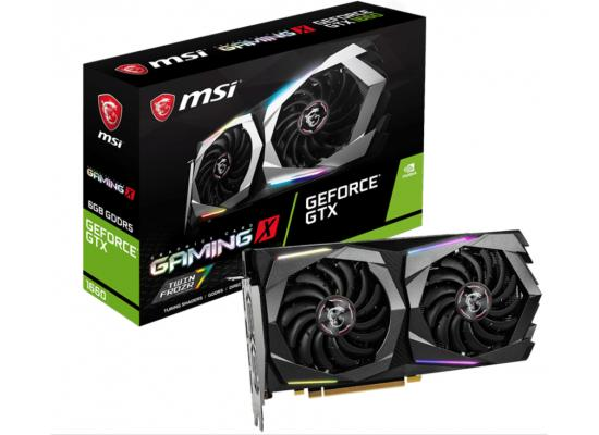 MSI NVIDIA GeForce GTX 1650 4GB GAMING X Turing