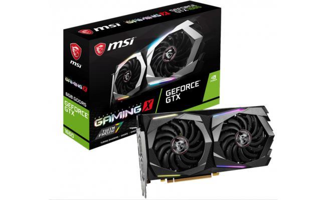 MSI NVIDIA GeForce GTX 1650 4GB GAMING X Turing