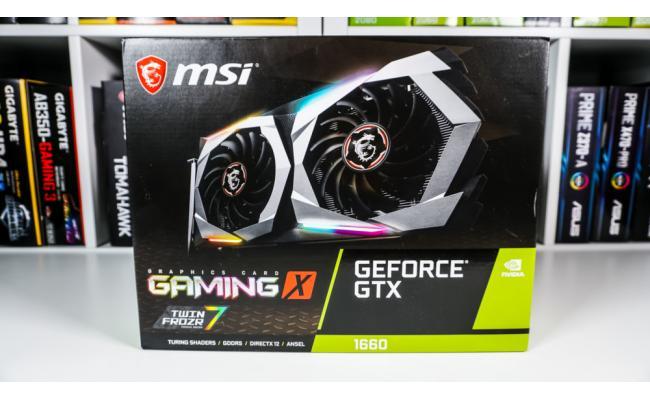 MSI NVIDIA GeForce GTX 1660 GAMING X 6G GDDR5