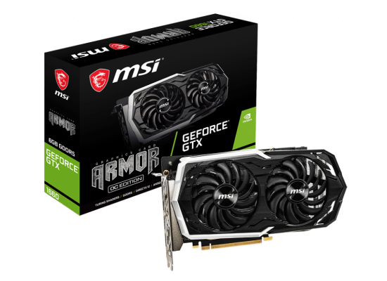 MSI NVIDIA GeForce GTX 1660 6GB DDR5 ARMOR OC