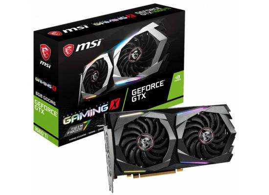 MSI NVIDIA GeForce GTX 1660 Ti GAMING X 6G GDDR6