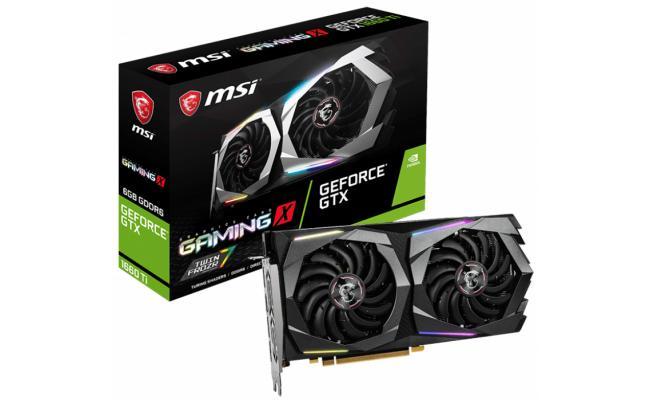 MSI NVIDIA GeForce GTX 1660 Ti GAMING X 6G GDDR6
