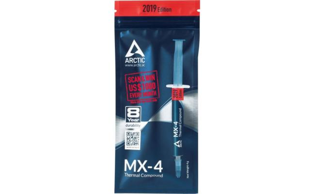 ARCTIC MX-4 4G 2019 EDITION Thermal Compound (4.0 g)