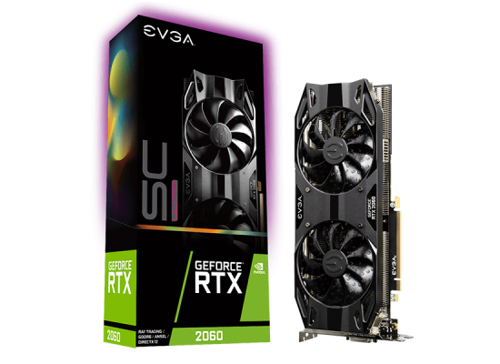 EVGA NVIDIA GeForce RTX 2060 SC ULTRA GAMING 6GB GDDR6