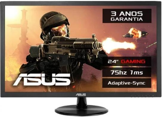 "ASUS VP248H 24"" FHD , 1ms, up to 75Hz , FreeSync"