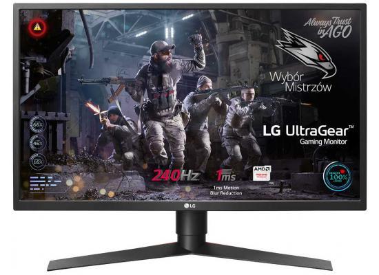 "LG 27GK750F 27"" FHD , 240 Hz G-Sync Compatible"