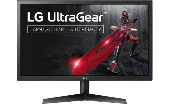 """LG 24GL600F 24"""" FHD FreeSync 144Hz Gaming Monitor"""