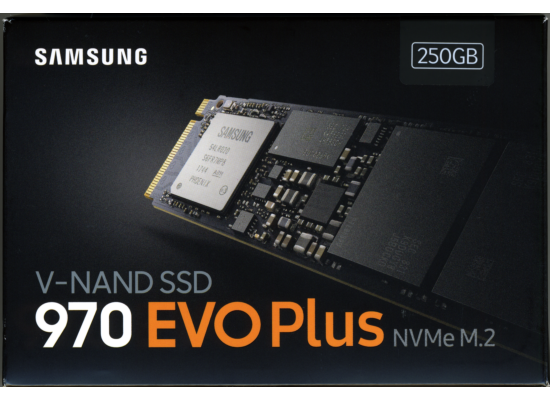 Samsung 970 EVO Plus NVMe 250GB M.2 PCI-Express 3.0