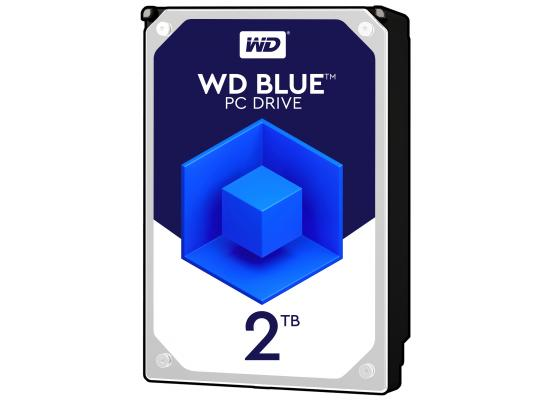 WD Blue 2TB 5400RPM SATA3 256MB HDD (3.5 inch)