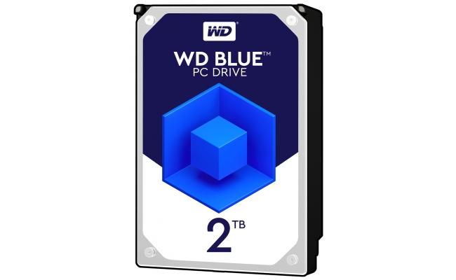 WD Blue 2TB 5400RPM SATA3 256MB HDD (3.5 inch)