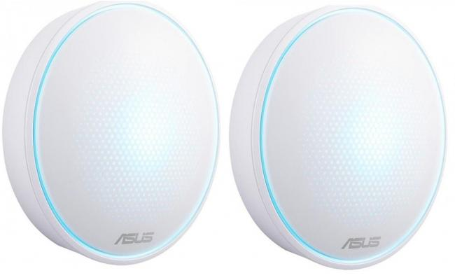 ASUS Lyra Home WiFi System, Pack of 2 (for large homes)