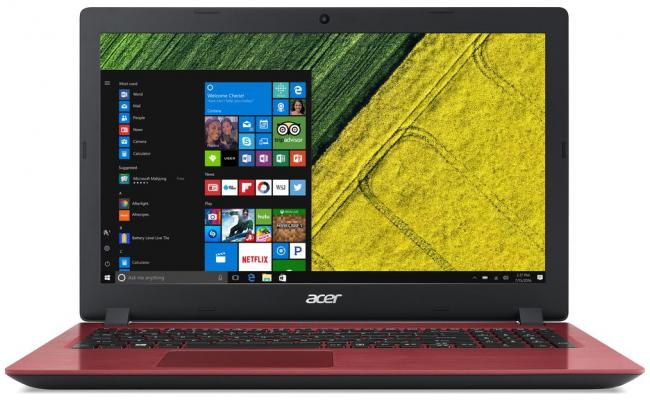 Acer Aspire 3 A315 7Gen Intel Core i3 - Red