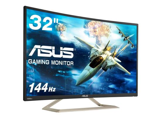 "ASUS Curved VA326H 31.5"" Full HD 144Hz , Eye Care Monitor"