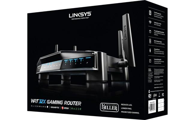 Linksys WRT32X Wireless AC3200 w / Killer Prioritization Engine
