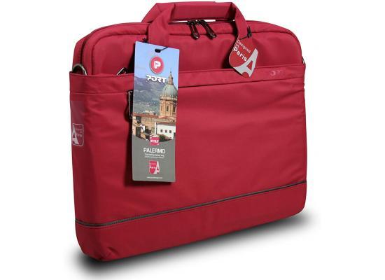 """Port designs Port Palermo 140343 Laptop Bag 15.6"""" - Red"""