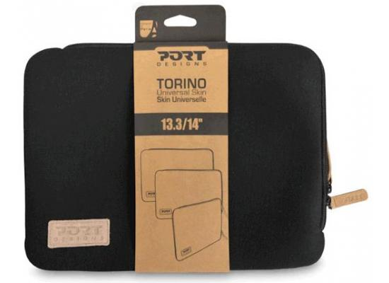 "Port Designs 14031 Torino Shockproof Skin Sleeve 13.3""  - Black"