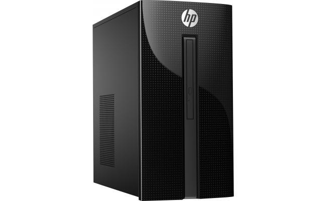 HP Desktop 460 7Gen Core i7 KabyLake - Black