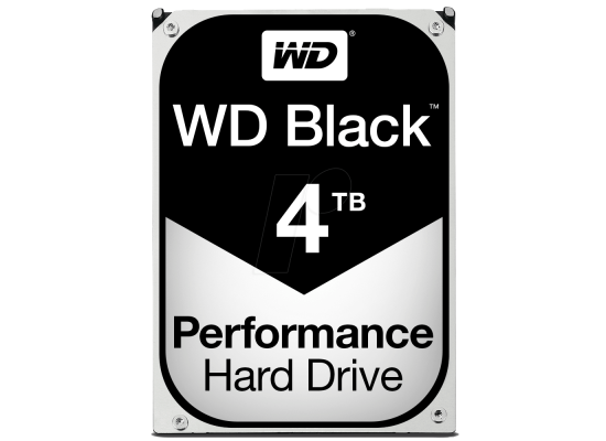 WD Black 4TB Performance HDD 4TB 7200RPM 256MB