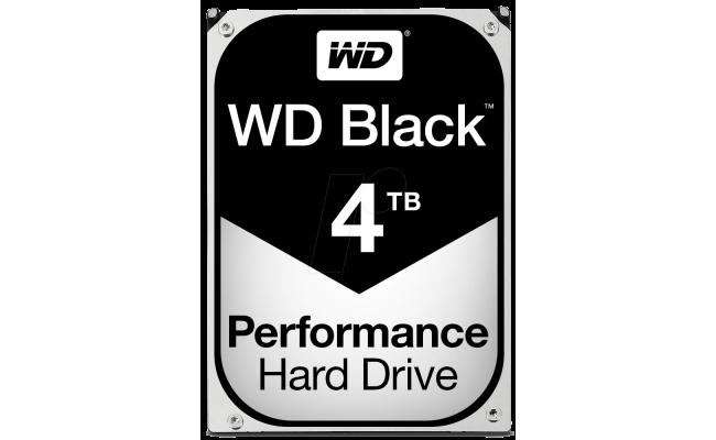 WD Black 4TB Performance HDD 4TB 7200RPM 256MB