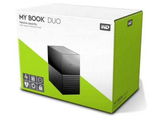 WD 4TB My Book Duo RAID External HDD - USB 3.1