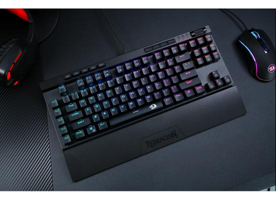 Redragon K587 RGB TKL Mechanical Gaming Keyboard