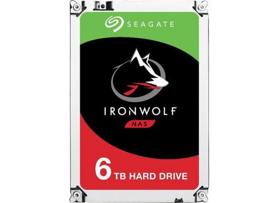 Seagate IronWolf 6TB HDD 7200 RPM 256MB Cache
