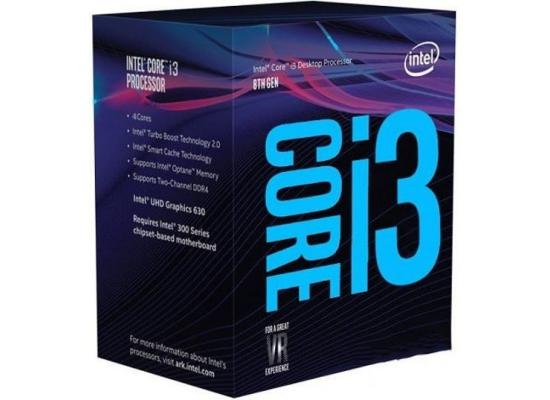 Intel Core i3-8300 Coffee Lake Quad-Core 3.7 GHz