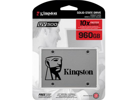 Kingston UV500 960GB SATA III Solid State Drive (SSD)