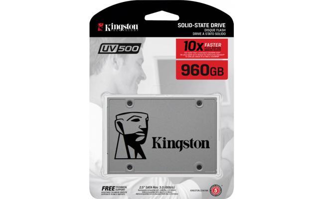 Kingston UV500 960GB SATA III Solid State Drive (SSD)