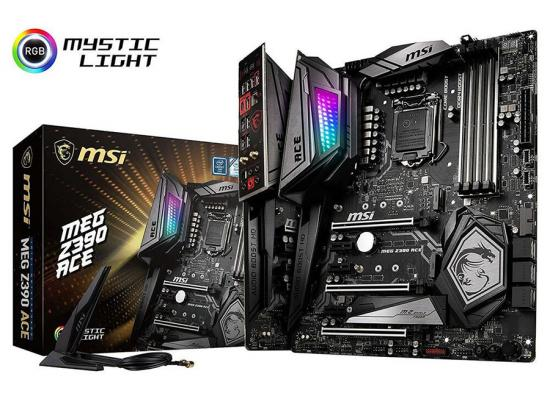 MSI MEG Z390 ACE ( WIFI ) Intel Z390 ATX Motherboard