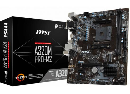 MSI A320M PRO-M2 V2 AMD A320 AMD Motherboard
