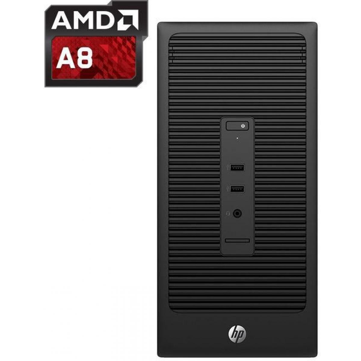 HP 285 G2 Microtower AMD A8 Pro 7600 Quad Core PC