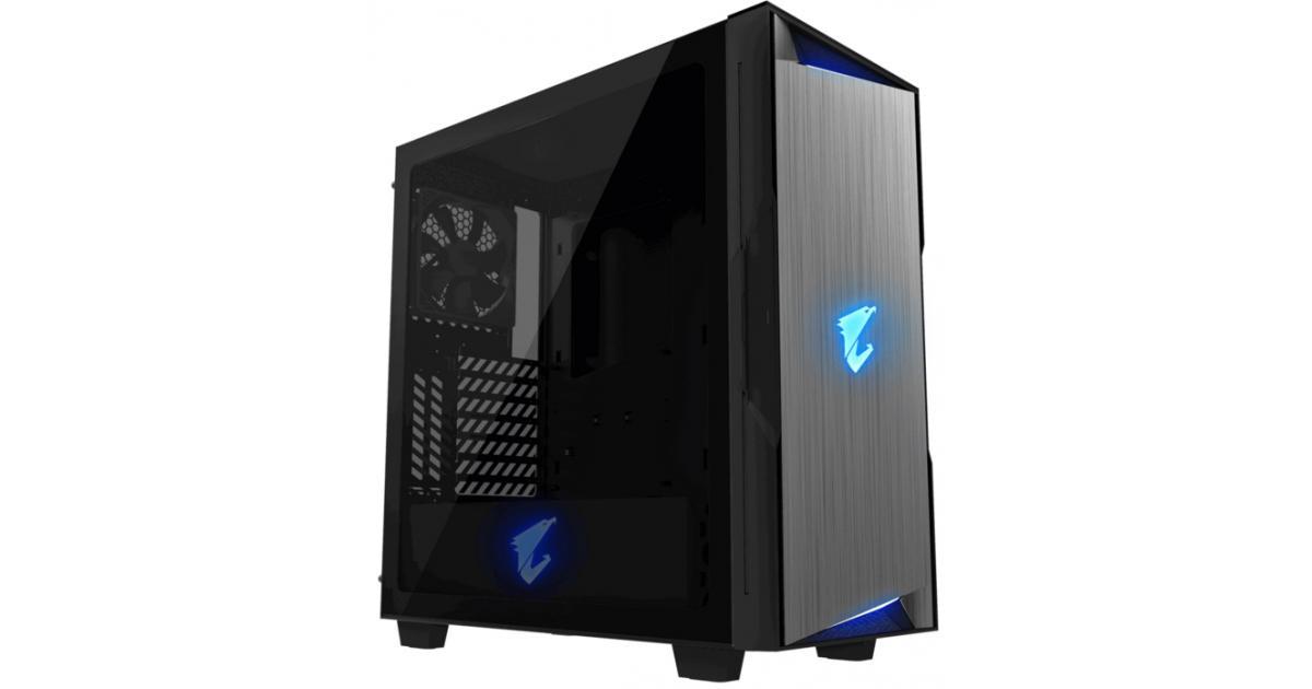 GIGABYTE AORUS C300 RGB GLASSTempered Glass | GB-AC300G | City Center For  Computers | Amman Jordan