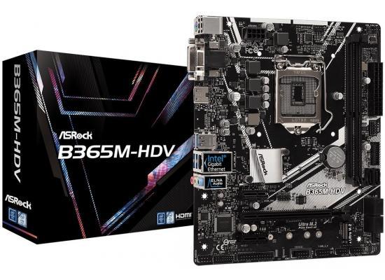 ASRock B365M-HDV Intel B365 M.2 DDR4 MATX Motherboard