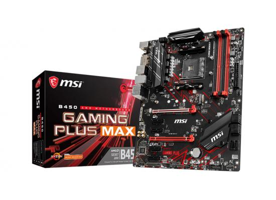 MSI B450 GAMING PLUS MAX AMD B450 ATX Motherboard