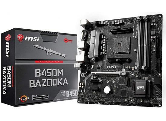 MSI AMD B450M BAZOOKA V2 M.2 MicroATX Motherboard