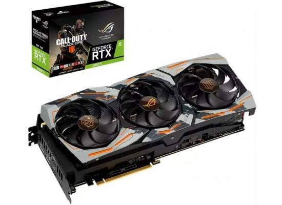 ASUS Strix RTX 2080 Ti  Edition Limitée Call of Duty Black Ops