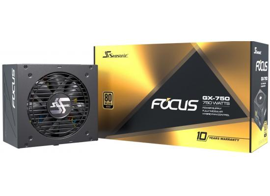 Seasonic Focus GX Series 750w 80+ Gold Full Modular