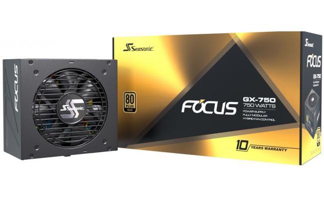 Seasonic Focus GX Series 750w 80+ Gold Full Modular