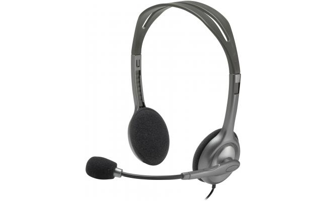 Logitech H111 Stereo Headset - Noise-cancelling
