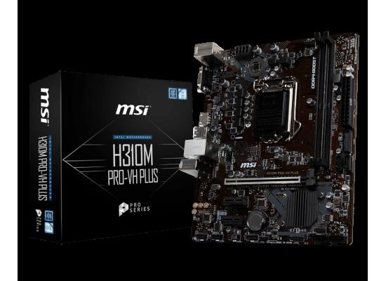 MSI H310M Pro-VH Plus Intel H310 Micro-ATX Motherboard