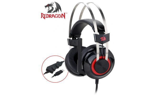 Redragon H601 TALOS 7.1 USB Surround Stereo Gaming