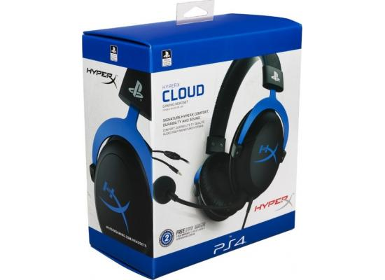HyperX Cloud Gaming Headset For PS4 - Blue