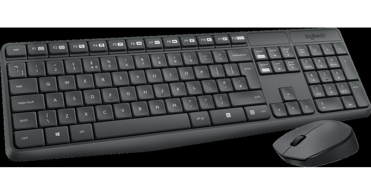 5331b6e9807 Logitech MK235 Wireless Keyboard and Mouse KIT | MK235 | City Center For  Computers | Amman Jordan