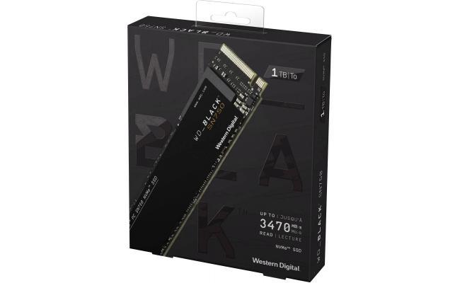 WD BLACK SN750 1TB M.2 NVMe Gaming SSD