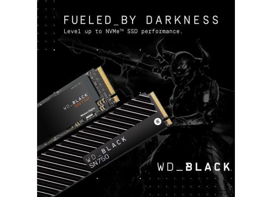 WD BLACK SN750 500GB M.2 NVMe Gaming SSD