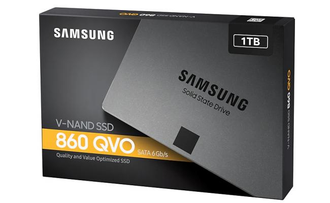 Samsung 860 QVO Series 1TB Solid State Drive